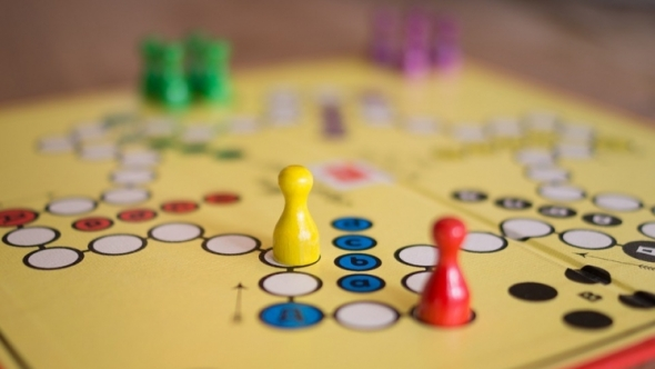 A photo of a board game.